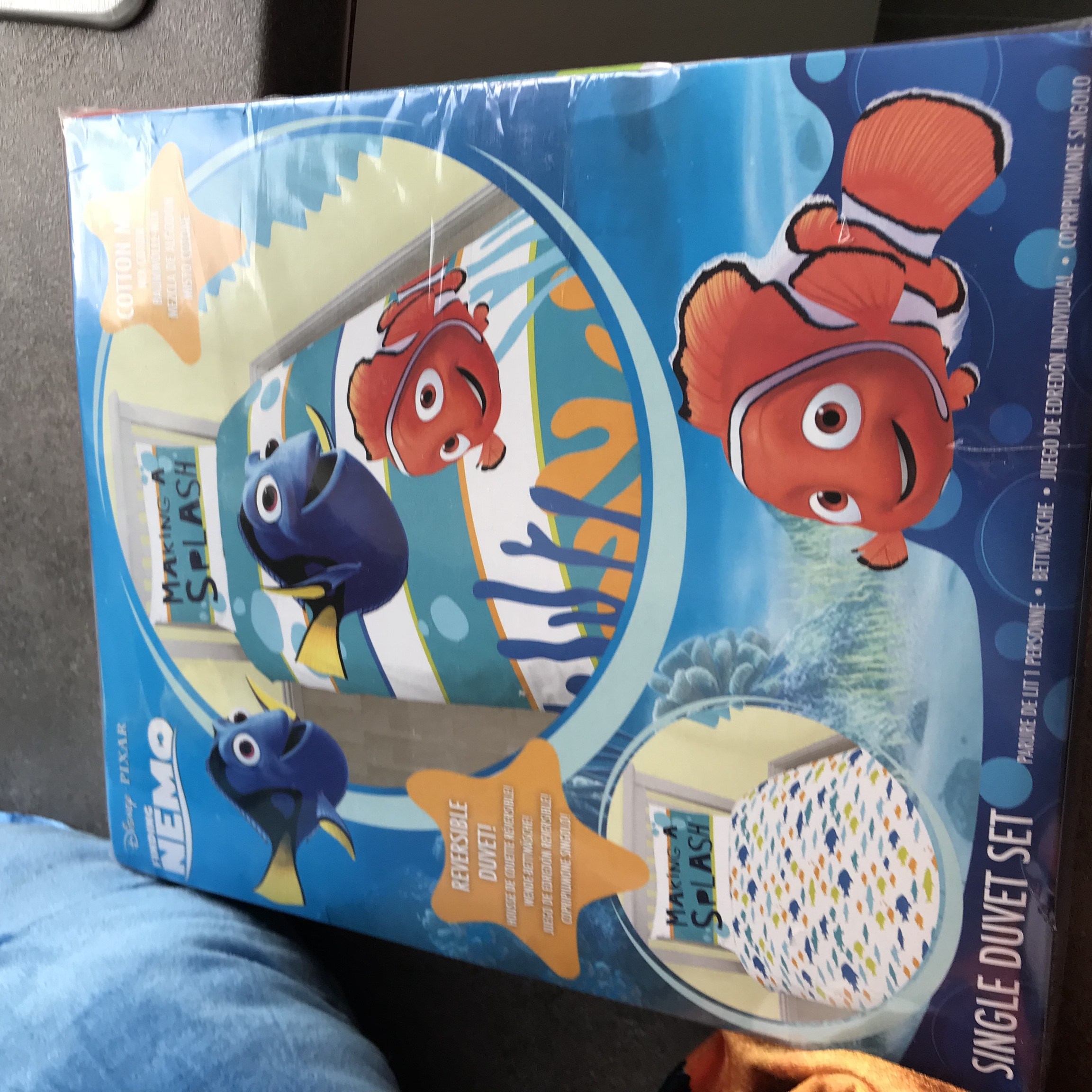 Nemo Bettwäsche Two Large Finding Nemo And Dory Teddies And Brand... - Depop
