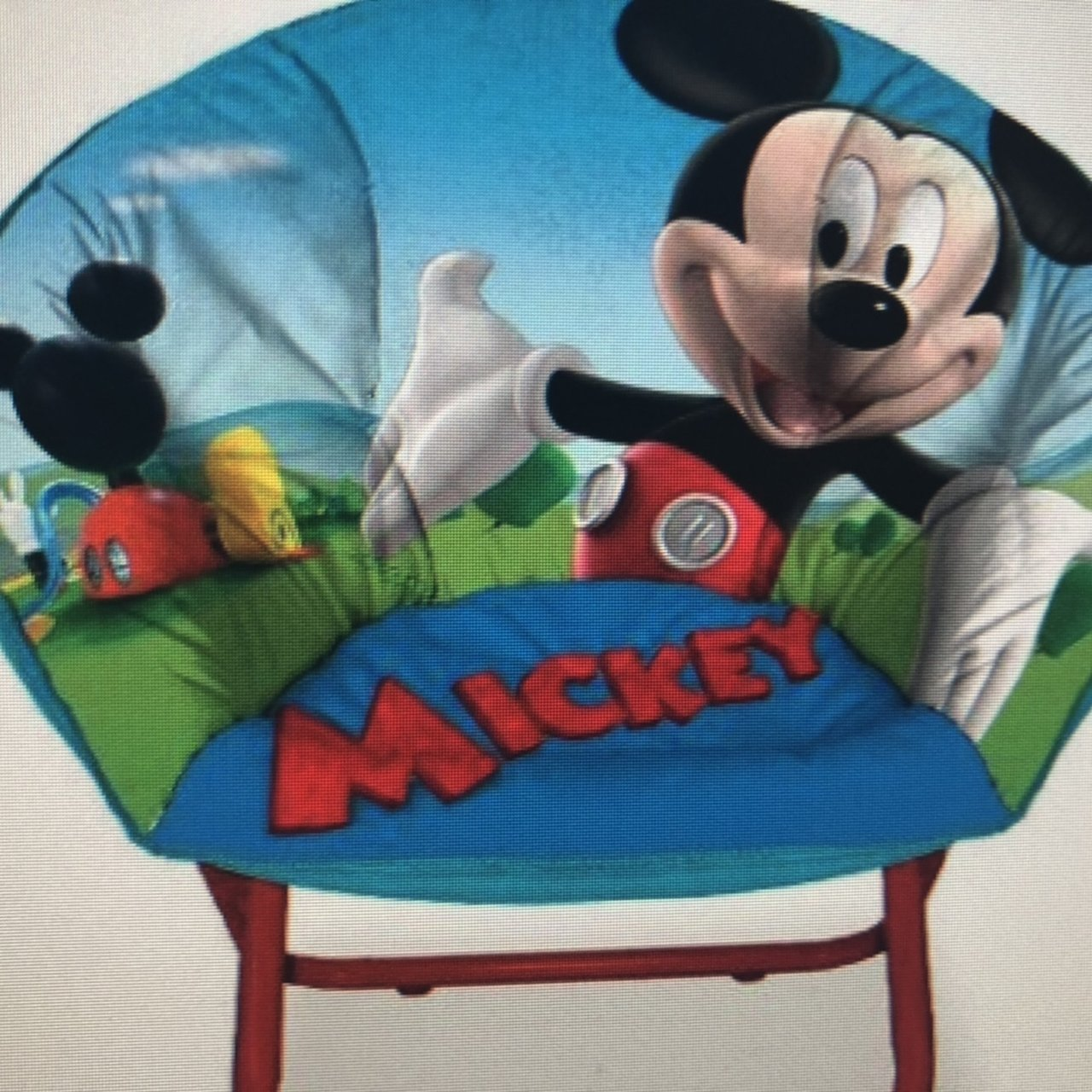 Mickey Mouse Chairs For Toddlers Listed On Depop By Jennagnomes