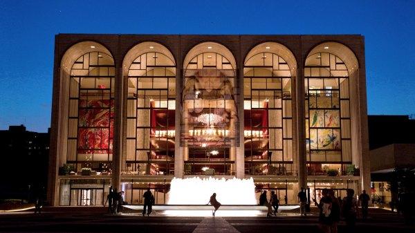 Lincoln Center Metropolitan Opera House