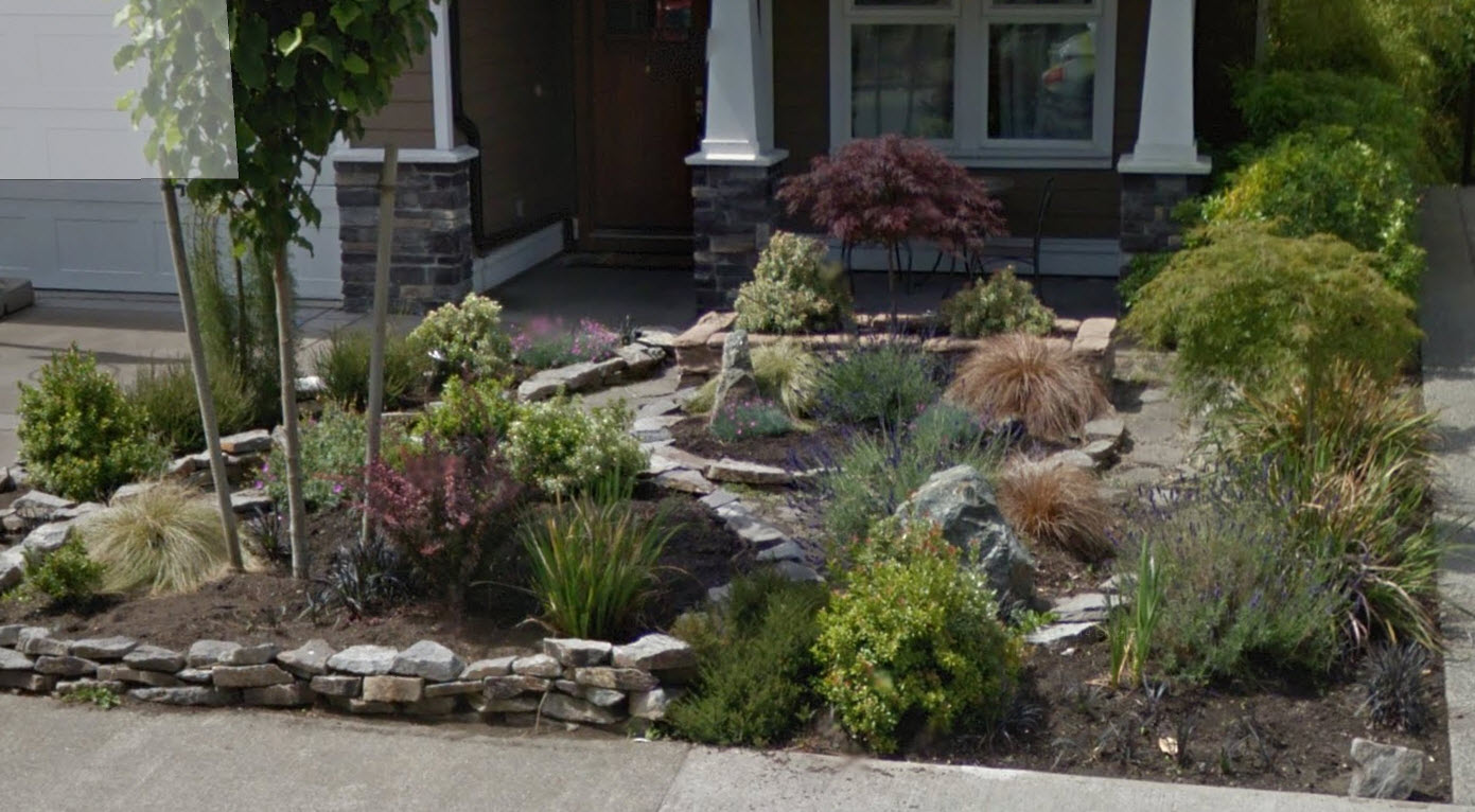 xeriscape and maintenance landscaping