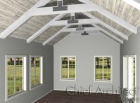 Creating Exposed Trusses in Home Designer Pro
