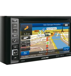 alpine double din inew990hdmi radio stereo head unit fits land rover defender 90 ebay [ 1600 x 1200 Pixel ]