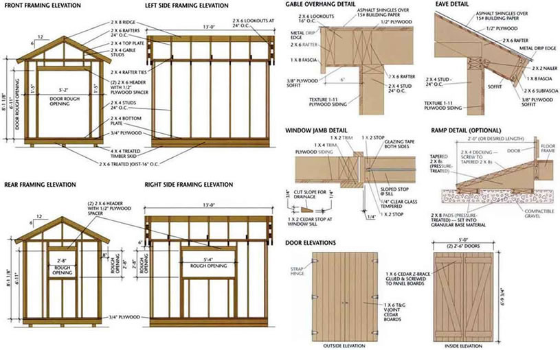Free Easy Garden Shed Plans
