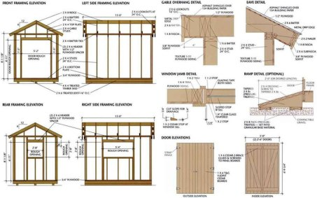 shed plan details - Ryan's Shed Plans