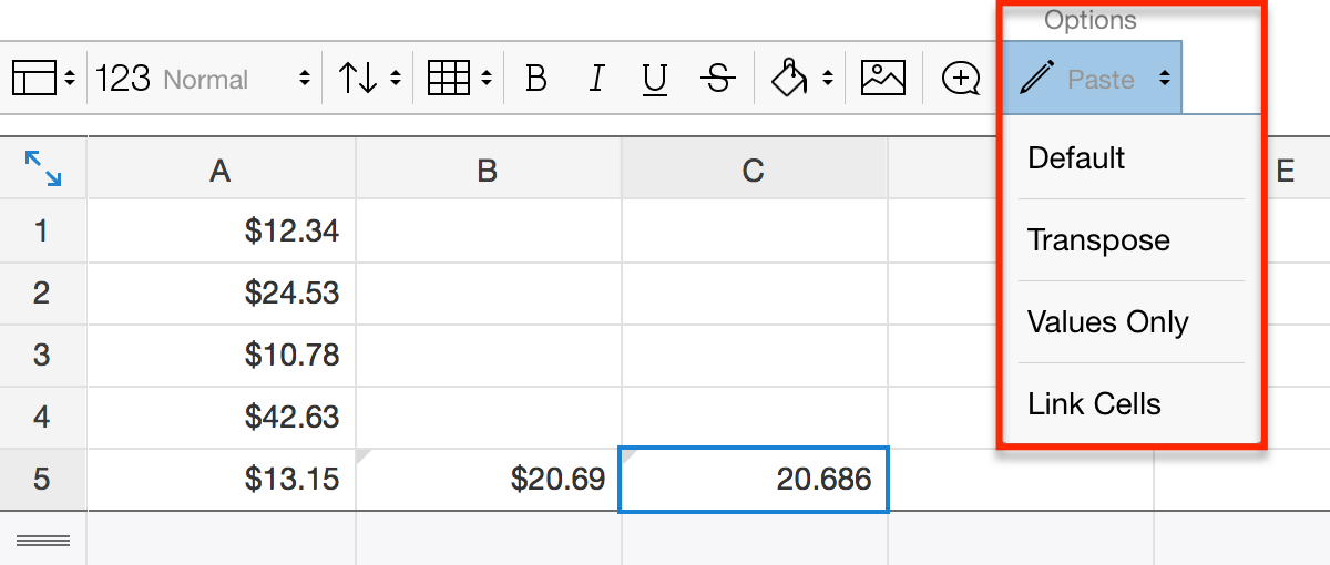 Quip - New Features for Quip Spreadsheets