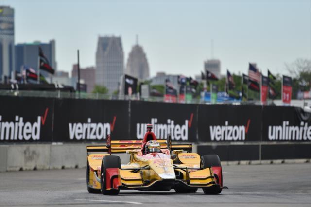 Hunter-Reay redondeó el 1-2 de Andretti Autosport (FOTO: Chris Owens/INDYCAR)