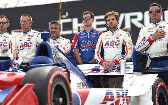 Muñoz sigue en su primer año con AJ Foyt Racing (FOTO: Chris Owens/INDYCAR)
