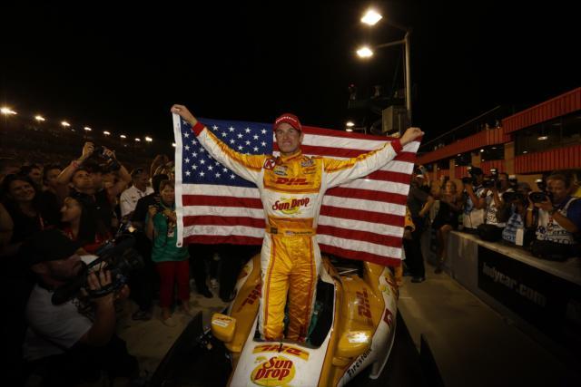 A diferencia de Rosberg y Edwards, Hunter-Reay afirma que todavía tiene mucho por demostrar en IndyCar (FOTO: INDYCAR)