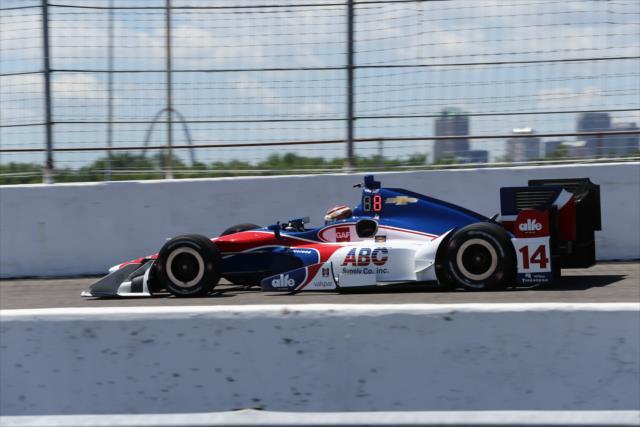 Muñoz finalizó 12° en el Gran Premio del año pasado (FOTO: Chris Jones/INDYCAR)
