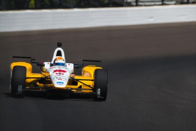 La de 2017 es la novena participación del español en la Indy 500 (FOTO: David Yowe/INDYCAR)