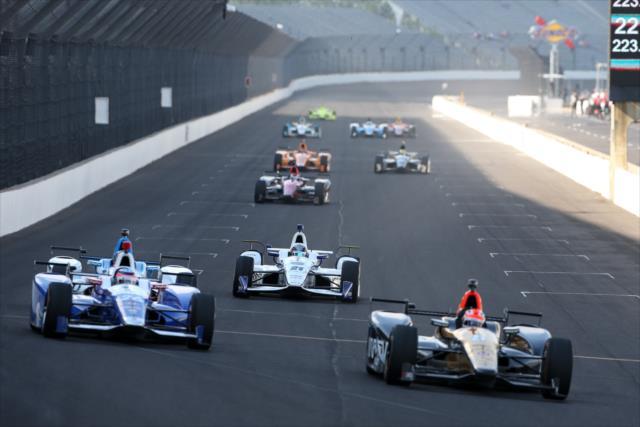 Como indica la tradición, mayo es dedicado a las actividades en el Speedway (FOTO: Joe Skibinski/INDYCAR)