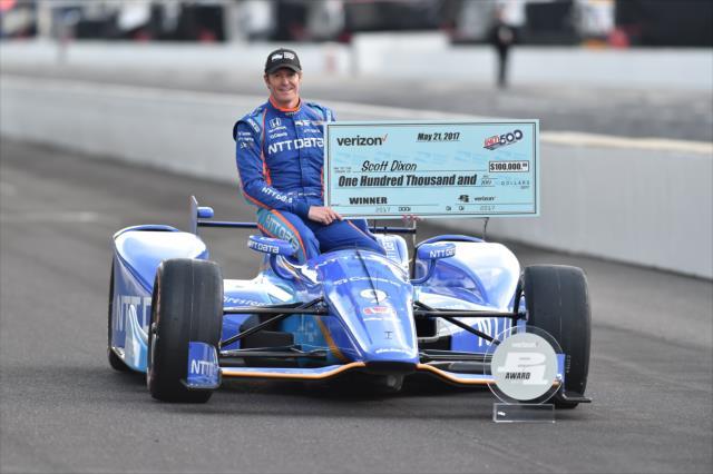 Dixon se perfila como favorito de Honda, junto con los de Andretti Autosport (FOTO: Chris Owens/INDYCAR)