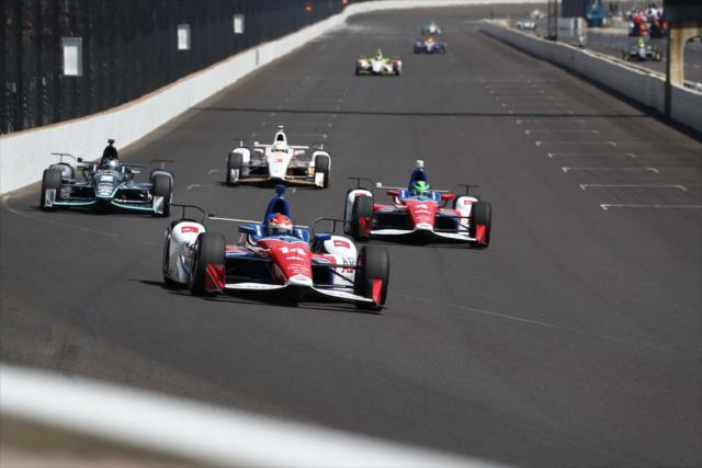 Es la primera temporada completa para Muñoz con el aero kit Chevrolet (FOTO: Bret Kelley/INDYCAR)