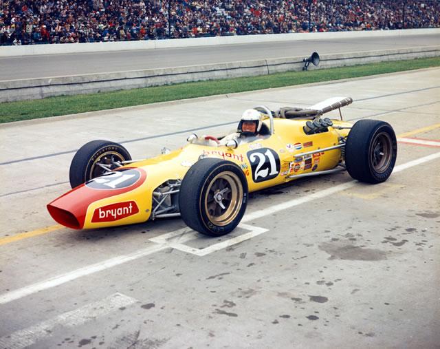 El Volstedt 1967 fue manejado, entre otros, por Jim Clark y Cale Yarborough (en foto). FOTO: IMS Photo