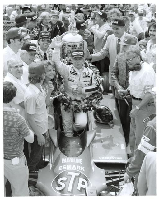 Johncock ganó en Indianapolis en 1983, con un Wildcat Cosworth diseñado por Gordon Kimball (FOTO: Indianapolis Motor Speedway)