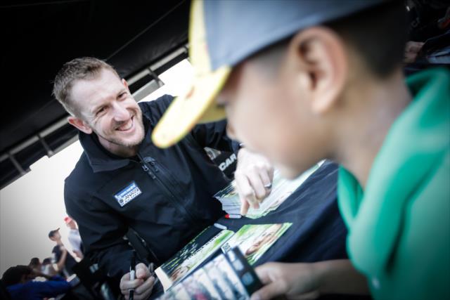 Por primera vez desde que debutó en IndyCar, Kimball no manejará autos de Ganassi (FOTO: Shawn Gritzmacher/INDYCAR)