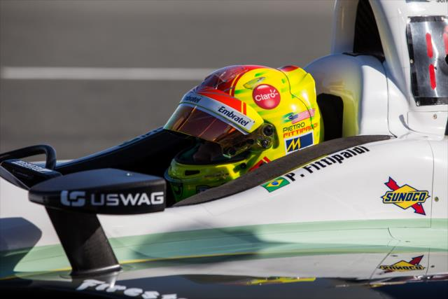 Fittipaldi durante el test del lunes en Sonoma (FOTO: Sonoma Raceway/IMS Photo)
