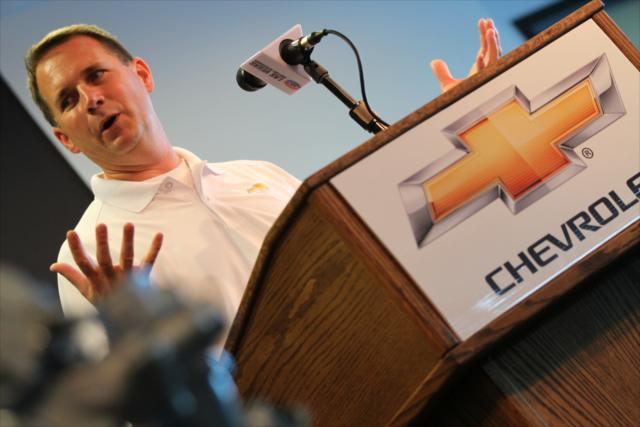 Mark Kent (FOTO: Shawn Gritzmacher/IMS, LLC Photography)