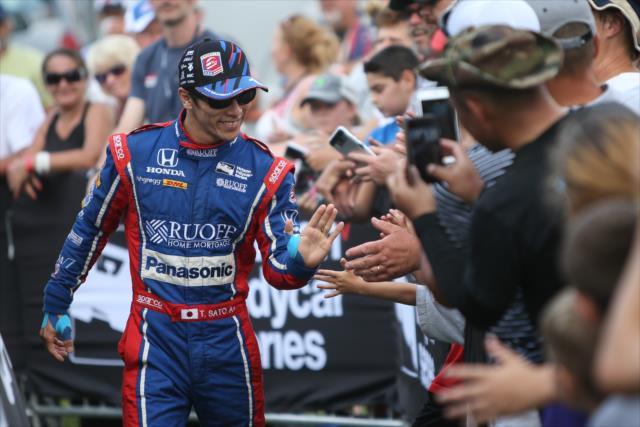 Sato se encuentra en su mejor temporada dentro de la IndyCar (FOTO: Joe Skibinski/INDYCAR)