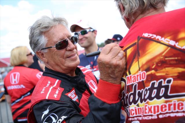 Andretti es una leyenda en el automovilismo internacional (FOTO: Matt Fraver/INDYCAR)