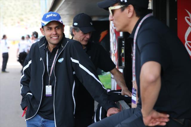 Dörrbecker estuvo presente en el Open Test de IndyCar en Phoenix (FOTO: Joe Skibinski/INDYCAR)