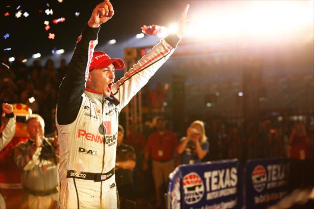En 2016, Rahal ganó en Texas y fue quinto general (FOTO: Chris Jones/INDYCAR)