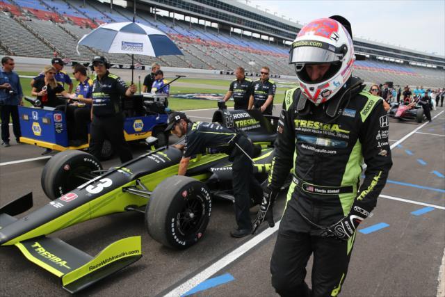 Es la séptima temporada para el californiano en la IndyCar; al momento, solo ha logrado una victoria (FOTO: Chris Jones/INDYCAR)