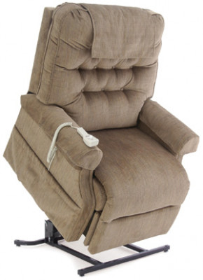 invacare clinical recliner geri chair office upholstery fabric 3 position deluxe adult rental 26 wide reclining lift lc358xl 500 lbs cap