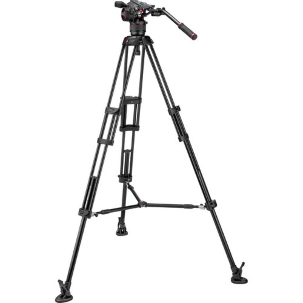 Manfrotto 546B Tripod Legs with Nitrotech N8 Video Head