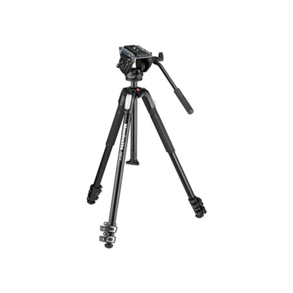 Rent a Manfrotto 500AH Head and 190X3 Tripod Kit