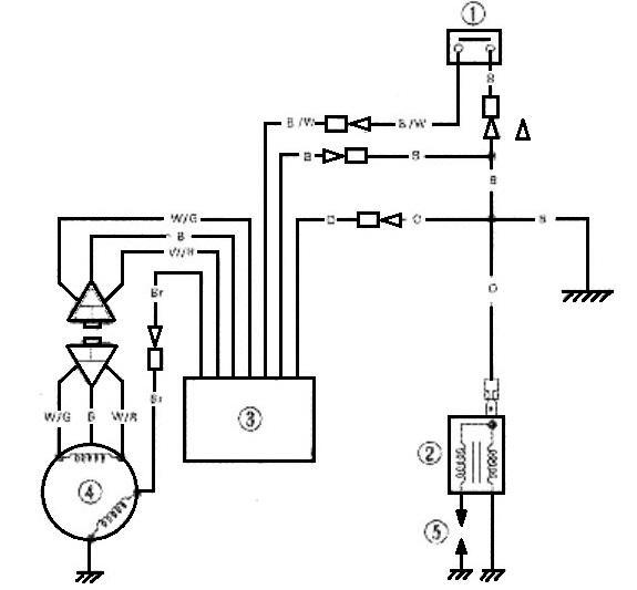 4 wire regulator wiring diagram for scooter