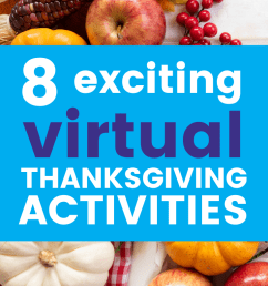 8 Fun Thanksgiving Activities For Virtual Learning - Scoot Education [ 1102 x 735 Pixel ]