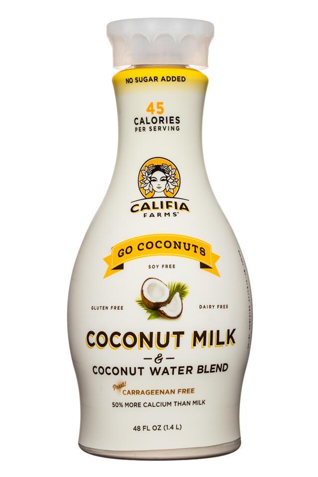 Go Coconuts- Coconut Milk & Coconut Water Blend   Califia ...