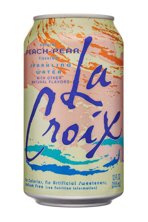 Image result for Peach-Pear la croix