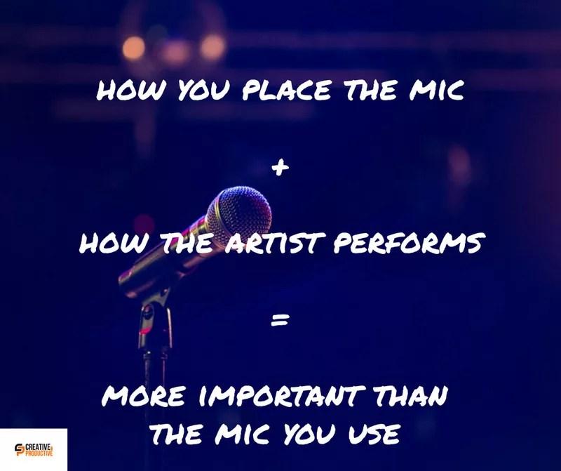 Good recording microphone