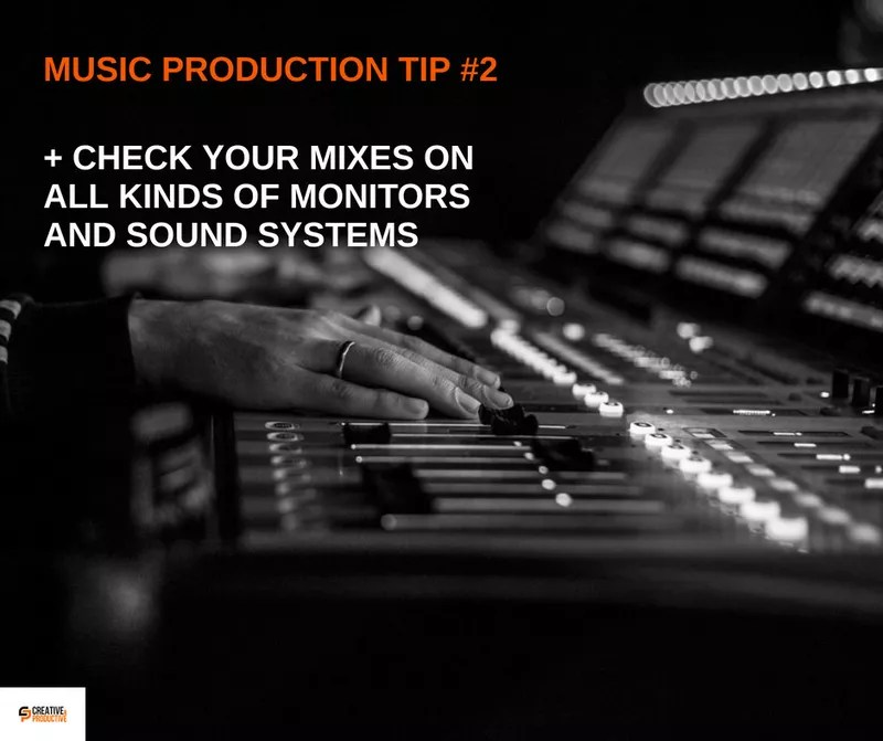 Music production tips #2