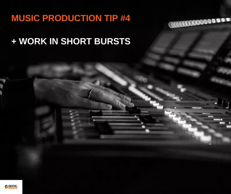 Music production tips #4