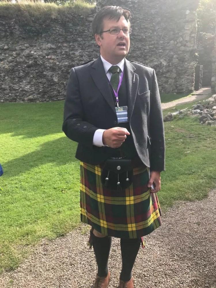 Scottish Highlands guide Andrew Baxter