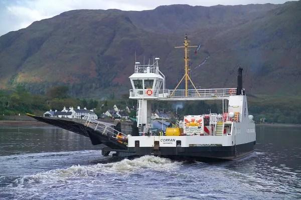 Corran Ferry, Ardgour, Scotland