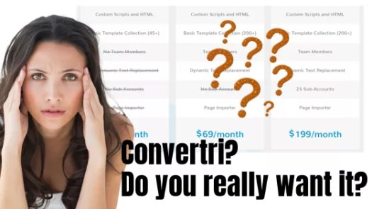 Convertri honest review