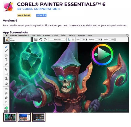 COREL® PAINTER ESSENTIALS™ 6