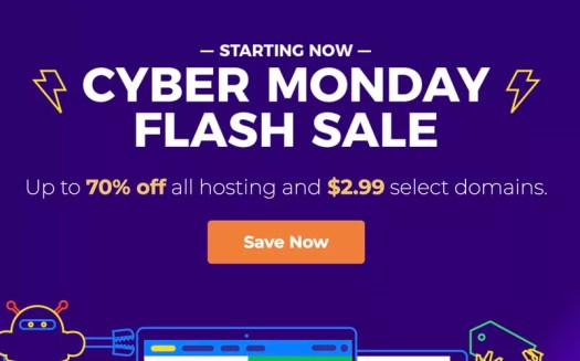 2018 Hostgator Cyber Monday Flash Sale for One Hour