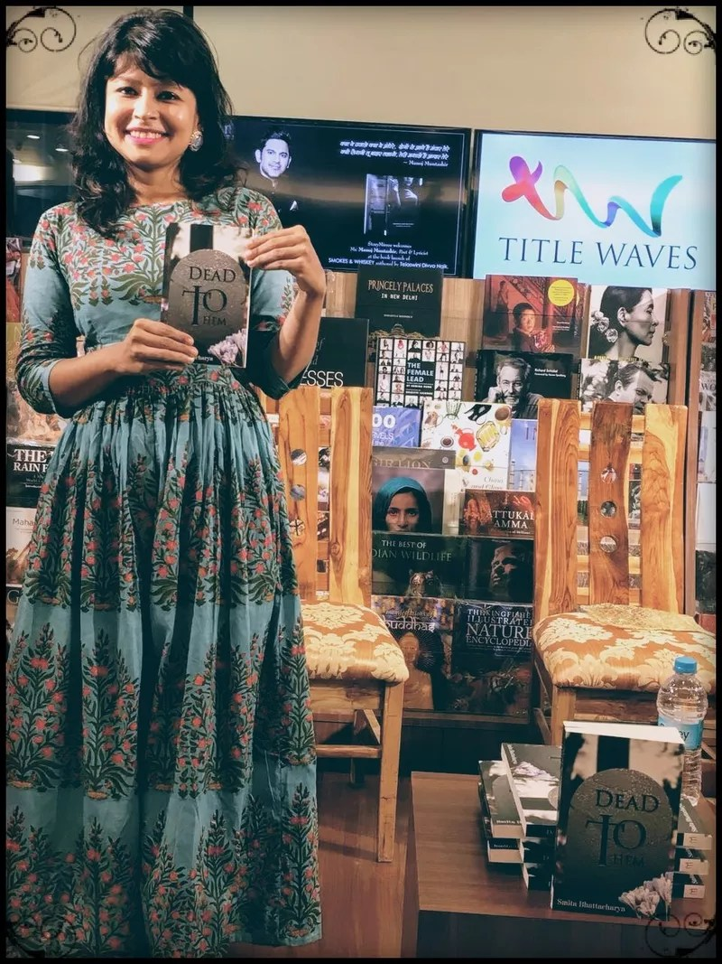 Smita Bhattacharya's book launch at Title Waves