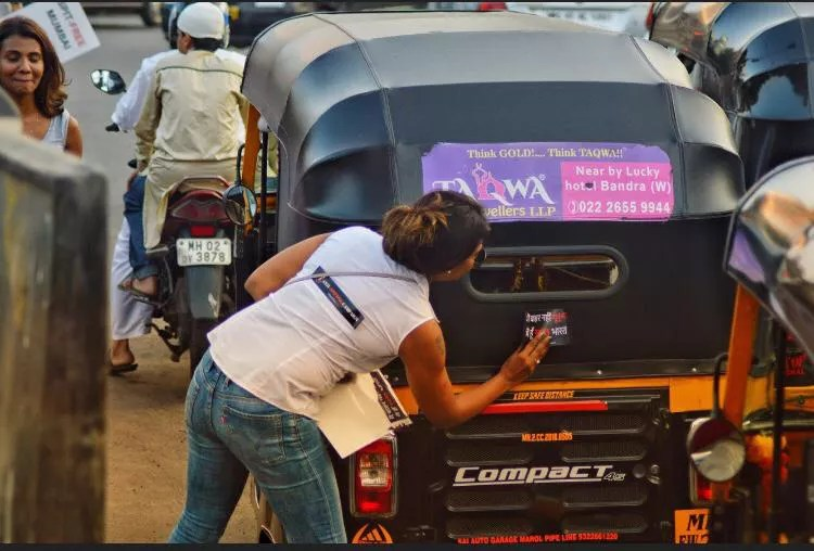Anti-spitting Campaign at Linking Road
