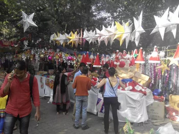 Christmas at Hill Road, Bandra