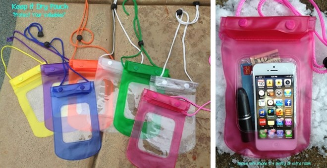 """THEY'RE BACK! The """"ORIGINAL"""" KEEP IT DRY POUCH IN 11 NEW COLORS!"""