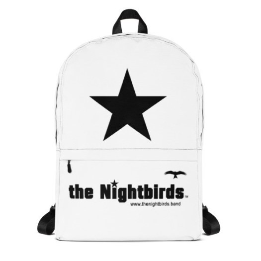 The Nightbirds Logo Backpack