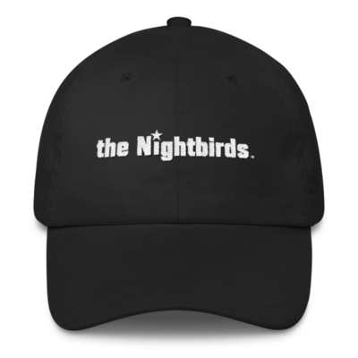 Classic Dad Cap embroidered with the Nightbirds Logo - Multiple Colors Available
