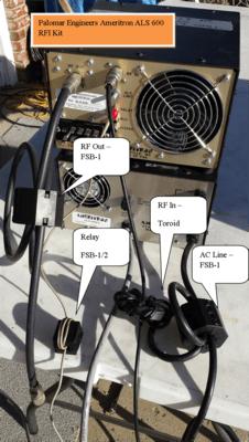 1199658032 - HF Amplifier RFI Kits
