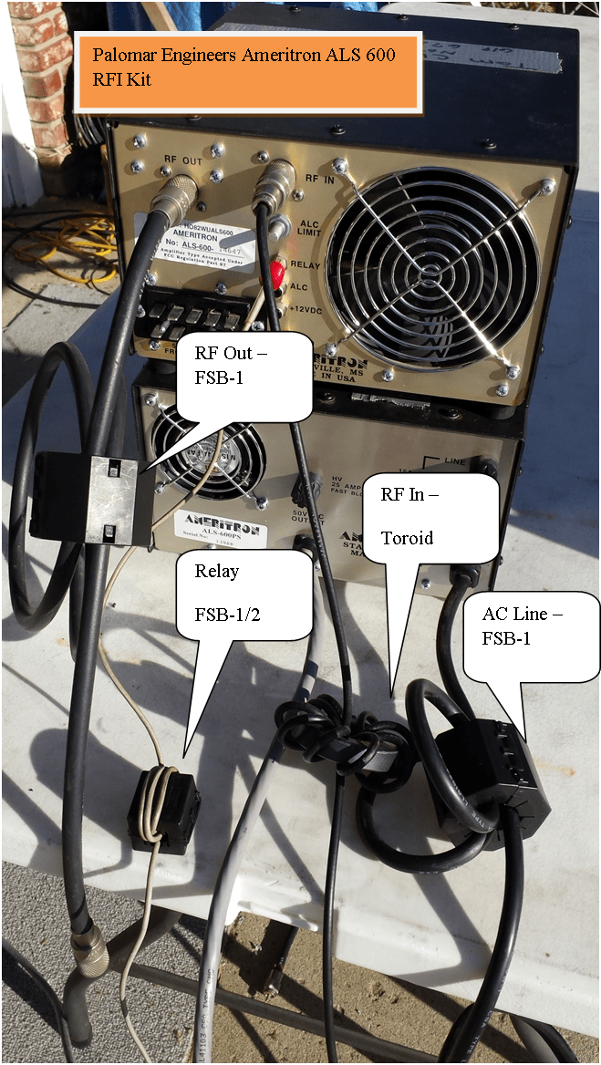 983046590 - HF Amplifier RFI Kits